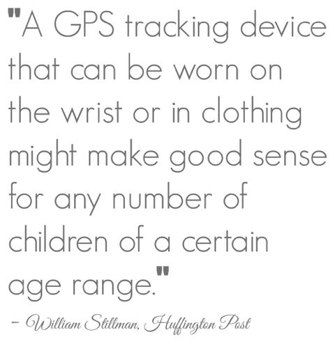A GPS tracking device kids