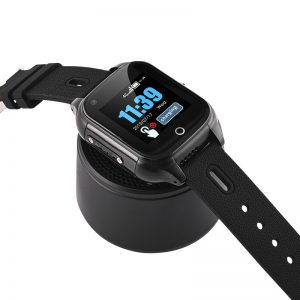 GPS tracking watch speaker