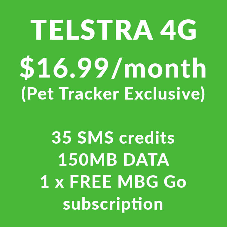 Telstra 4G SIM (Pet Buddy)