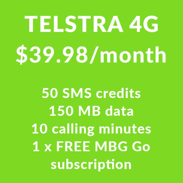 Telstra 4G SIM